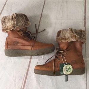 NWT Women's Panama Jack Leather Boots Size 37